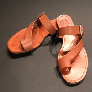 Vince Camuto Worn Once Leather Sandals
